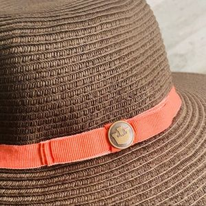 Goorin Bros Co. Raffia Woven Dark Chocolate Hat